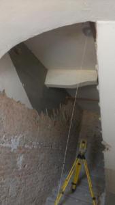 Verticalità vano nuove scale gemelle